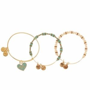 Alex and Ani 3 set mum bracelets NWT